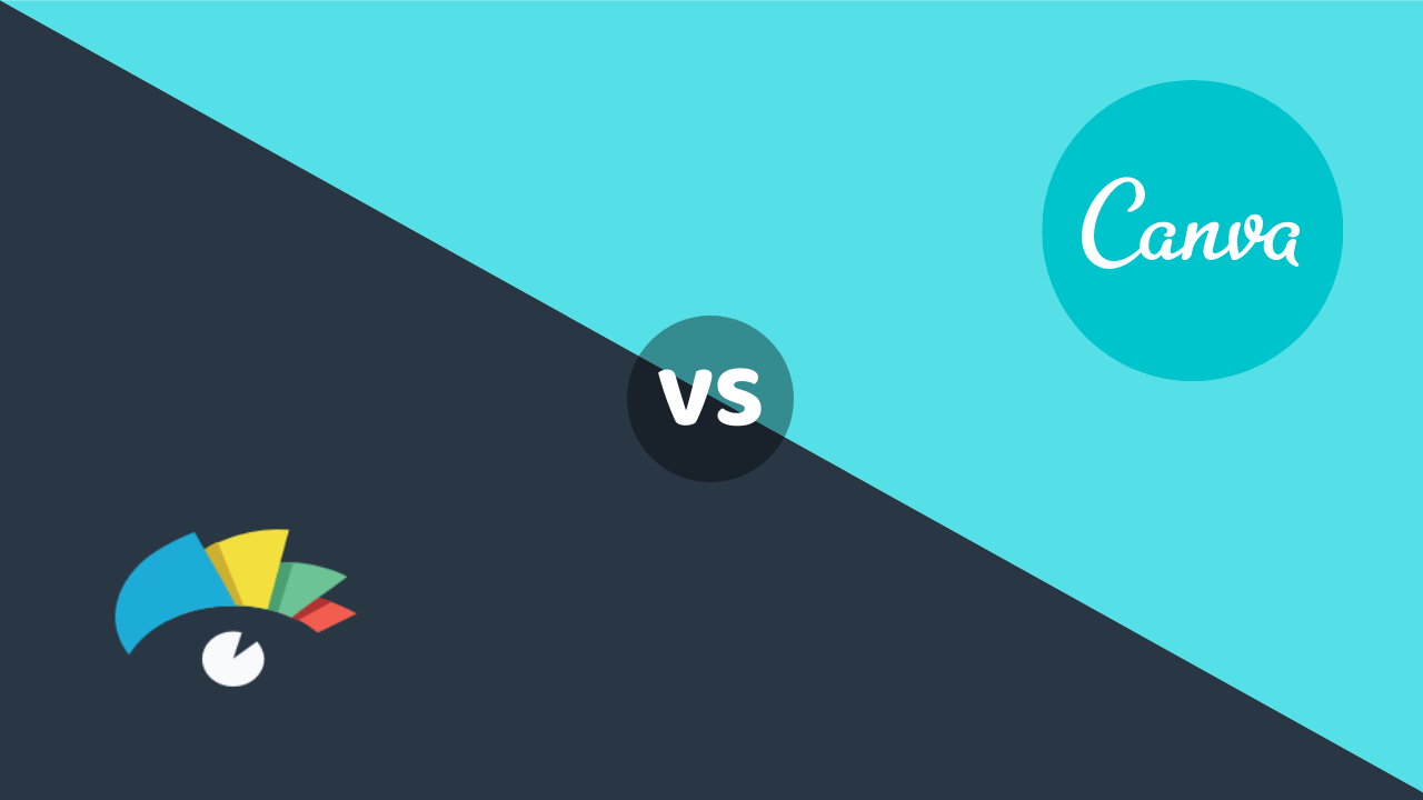 Canva vs visme